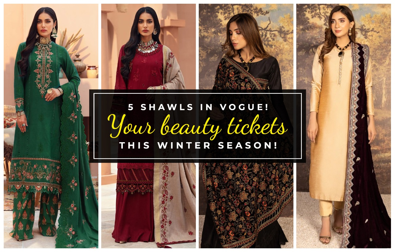 5 Super Exclusive And Exquisite Shawls You Can Buy To Warm Up The Winter Outings!