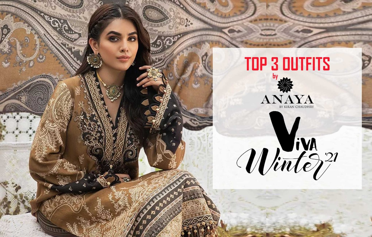 Top 3 Outfits By Anaya In The Viva Winter Collection!